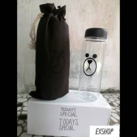 My Bottle Costume Line Brown with pouch