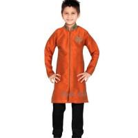 Setelan Koko Next Orange/Baju Koko Anak Impor/Koko Orange