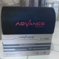 Speaker Advance T-102 AC/DC HI FI Bass Power AMP