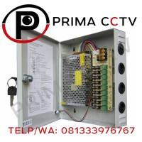 Power Supply dan Box 12V 20A untuk CCTV dan keperluan listrik lainnya