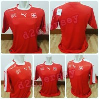 Jersey Swiss Home EURO 2016 OFFICIAL