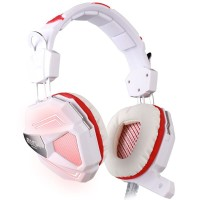 Headset Gaming Kotion Each G5200 LED with USB 7.1 Surround + Vibrate
