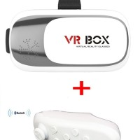 Virtual Reality VR BOX 2 Enhanced Version Cardboard 3D Glasses
