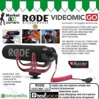 ORIGINAL RODE Microphone VIDEOMIC GO for Camera SLR/DSLR