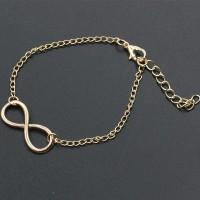 gelang infinite / new 8-word simple retro alloy metal bracelet JGE018