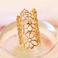 cincin renda bunga / lace rose flower ring JCI005