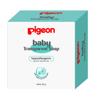 PIGEON - BABY TRANSPARENT SOAP CHAMOMILE 80 GR WITH CASE