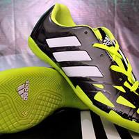 Sepatu Futsal Adidas Nitrocharge Speed Hitam Hijau