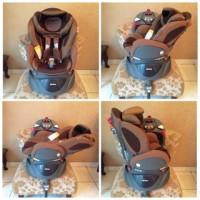 aprica fladea car seat (preloved)
