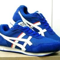 Sepatu Asics Onitsuka Tiger Biru / Running / Olahraga / Casual Pria