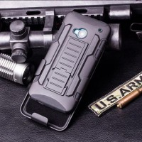 hardcase Future Armor Bumper With Belt Clip For Htc One M7