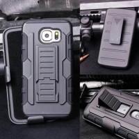 Hardcase future Armor Bumper With Belt Clip For Samsung S6 Edge