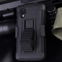 hardcase Future Armor Bumper With Belt Clip For Lg Nexus 5