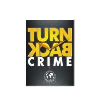 HIASAN JAM DINDING TURN BACK CRIME