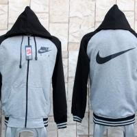 Jaket Nike Air Pegasus Abu Hitam (Hoodie/jumper/Switer)