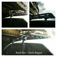 Roof Rack + Roof Bar Untuk Segala Mobil
