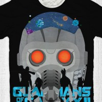 Kaos Guardian Of The Galaxy Anak / Dewasa - Guardian Black