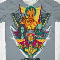 Kaos Guardian Of The Galaxy Anak / Dewasa - Guardian Grey