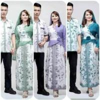 Batik Sarimbit 069 Couple Long dress muslim syarii Family no kerudung