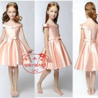 Baju Anak Cewek: Baby Bear Sabrina Dress