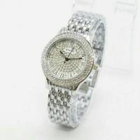 Jam Tangan Wanita / Cewe Rolex H8076 Silver