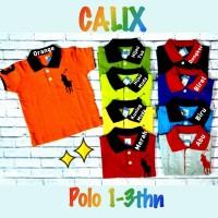 Baju Kaos Polo Anak Baby Premium 1y