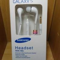 Hansfree + mic Samsung Galaxy S/J/A series, original 100%