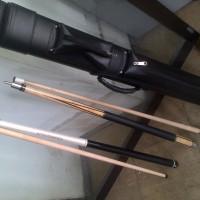 sepaket stick billiard lucasi L2005nb+jumpbreak n case