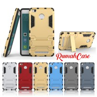 Xiaomi Redmi 3 PRO  IRON MAN Hard Case Armor Stand Holder Casing Cover