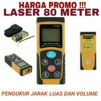 Digital Laser Distance Meter 80 M / Meteran Alat Pengukur Jarak