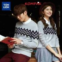Sweater Couple Zigzag