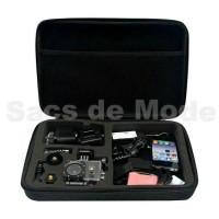 Large / Big Bag / Tas / Case for Action Cam, GoPro, Xiaomi Yi, Brica