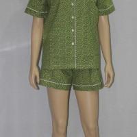 baju tidur/piyama dewasa little lovely star celana seksi hijau