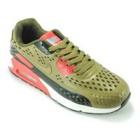 Sepatu Lari Nike Air Max 90 US Flag  A+ [15083M-CKHT]
