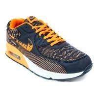 Sepatu Lari Nike Air Max 90 Wave Drips  A+ [15100M-NVOG]
