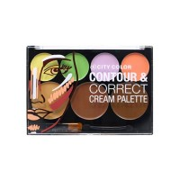 City Color Cosmetics Contour & Correct Cream Palette