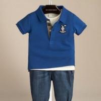 Baju Anak - Burberry Jeans Set (BO-468)