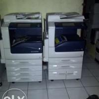 sale 2 unit mesin fotocopy fuji xerox color/warna apeos 3370