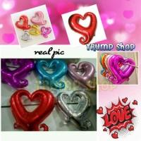 Balon Foil LOVE LUBANG