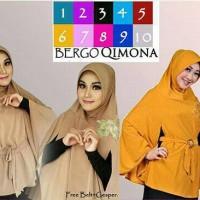 Hijab/Jilbab Bergo Qimona/Kimono Premium/syar'i/khimar
