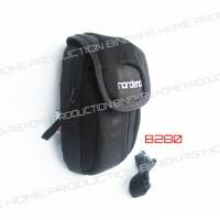 tas handphone double 6 inch + raincover (bisa selempang dan di sabuk)