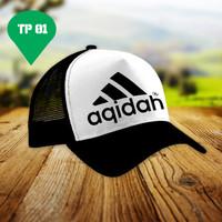 Topi Akidah | Trucker | Topi Murah| Topi Costum | Dakwah