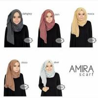 amira scraft / jilbab / kerudung polos / ombre rawis ima
