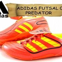 sepatu ADIDAS FUTSAL 07 PREDATOR DOFF merah kw super