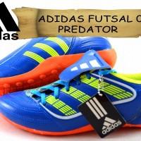 sepatu ADIDAS FUTSAL 06 PREDATOR DOFF biru kw super