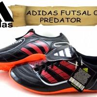 sepatu ADIDAS FUTSAL 03 PREDATOR DOFF hitam kw super