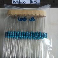 Resistor metal film 1/4W 100 ohm