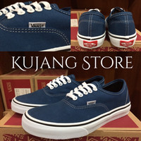 Sepatu vans authentic navy blue original premium quality waffle DT