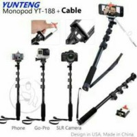 Hot !! Tongsis Yunteng kabel YT-1188