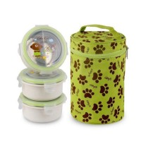 Gig Baby Lunch Box Rounded Green